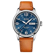 Hugo Boss Men's Analogue Quartz Watch with Leather Strap 1513331
