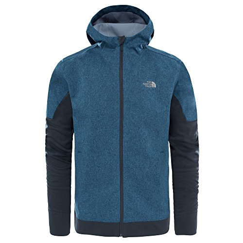 North Face t92zvzhzy, Jacket L Mehrfarbig (Shdyblhtr / Asphg) (North Face Softshell Jacke)