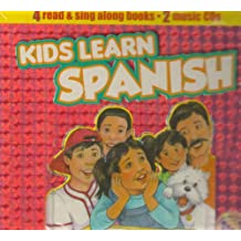 Kids Learn Spanish [With 4 Paperbacks] (Foreign Language Series, 10)