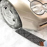 Cubierta antideslizante de la nieve del neumático del automóvil Tablero de la tierra 2PCS del coche de la placa del gancho del neumático de la placa del gancho Uno mismo-Conducción del equipo campo a