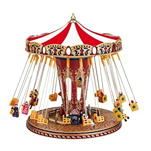 "Mr. Christmas Spieluhr """"World`s Fair Swing Carousel / Kettenkarussell"" (Spieldose, Musikdose, Spieluhren)"