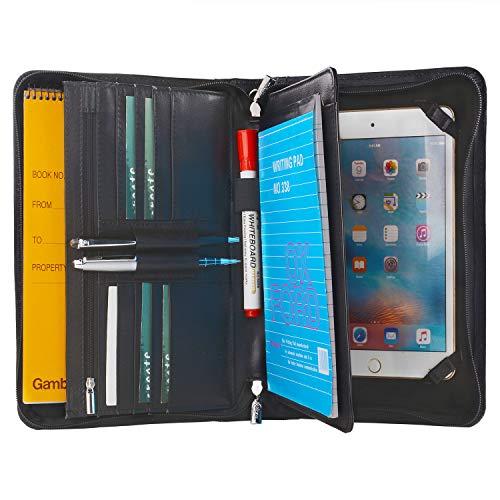 Leder-Padfolio mit Handschlaufe, für iPad Mini 5