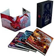 Dungeons & Dragons Core Rulebooks Gift Set (Special Foil Covers Edition with Slipcase, Player's Handbo