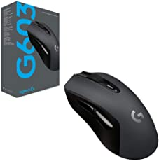 Logitech G603 Wireless Gaming Mouse (Black)