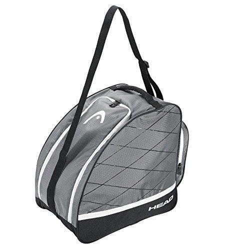 HEAD Erwachsene Boot Bag Skischuhtasche, Black/Silver, 40.0 x 39.0 x 27.0 cm