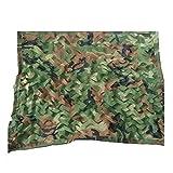 ANHPI-Sunshading Net Camouflage Dreischicht-Schattennetz Tuch 85% Sonnenschutz Atmungsaktiv Garten Blumen Anti-UV-Multipurpose Maschendraht,23 Größen,Armygreencamouflage-3 * 5m