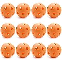 Orange baseball Balles