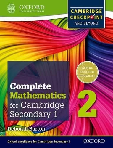 Complete mathematics for Cambridge IGCSE secondary 1. Checkpoint-Student's book. Per la Scuola media. Con espansione online: 2 (Cambridge Checkpoint and Beyond)