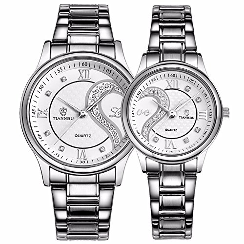 fq-102-stainless-steel-romantic-pair-his-and-hers-wrist-watches-for-men-women-white-set-of-2