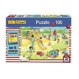 Schmidt Spiele Puzzle 56261 Meine Freundin Conni, Auf dem Spielplatz, 100 Teile
