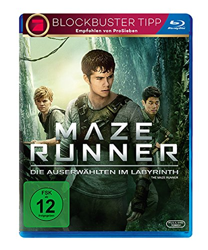Maze Runner 1 - Die Auserwählten im Labyrinth [Blu-ray] (Ray-the Blu Maze Runner)