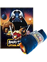 Couverture Polaire Angry Birds Star Wars 100 cm x 150 cm