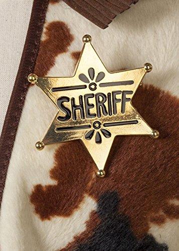 Sheriff Abzeichen (Rick Grimes Kinder Kostüm)