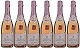 LACHETEAU Crémant de Loire Rose 750 ml - Lot de 6