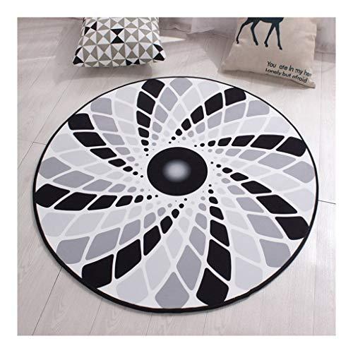 La alfombra Tapetes Felpudos Redondas Moda for decoración