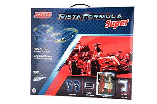 Globo Toys Globo–36971525cm spidko Pista Formel Track mit 2Autos (Remote-control Car Und Track)