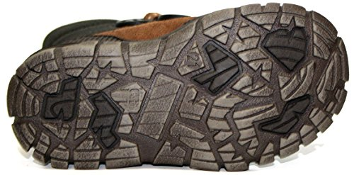 Siesta by juge-chaussures pour garçon & 44.9360.0004, bottines femme Marron - Braun (noug/esp/mus/nia 0004)