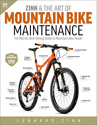 Zinn & the Art of Mountain Bike Maintenance: The World's Best-Selling Guide to Mountain Bike Repair por Lennard Zinn