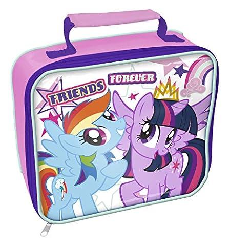 My Little Pony Lunch-Box, plastik, Lila, Weiß, 8 x 23 x 20 cm (Horsey Pony)