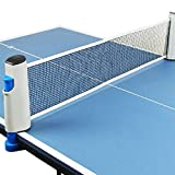 KLOUD City ®, einziehbar, Tischtennis-Netz, Zubehör/Ersatz-Ping Pong