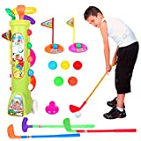 Best Toys & Child Golf Clubs - Majome Children Toys Golf Caddy Set Balls Clubs Review