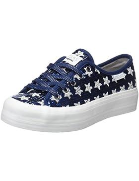 Conguitos Lentejuelas, Zapatos de Cordones Derby Para Niñas