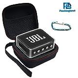 Pushingbest Coque pour JBL Go 2, 2 avec Eva et TPU pour Votre Haut-Parleur JBL Go 2 Bluetooth