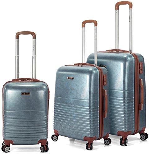 Benzi - Juego de maletas BZ5104 (Azul)