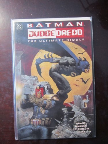 Batman - Judge Dredd: The Ultimate Riddle by Alan Grant (1995-07-01)