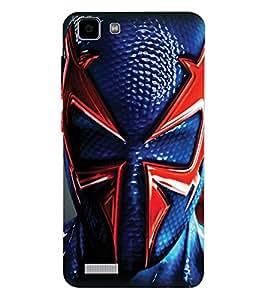 ColourCraft Superhero Design Back Case Cover for VIVO Y27L