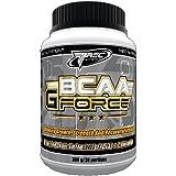 BCAA + L-Glutamine en Poudre 600 g Orange -- Ameliore La Masse Musculaire