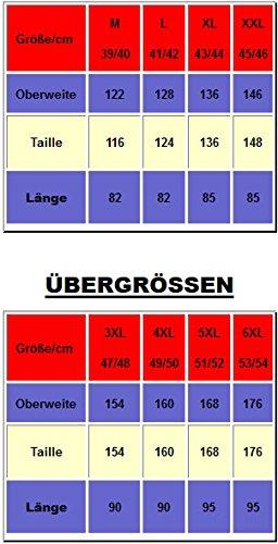 Jack Gorden 3er Pack Hemden Langarm 7216 auch Übergrößen Weiss/Weiss/Weiss