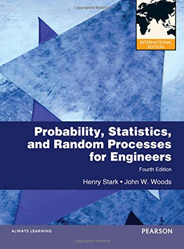 Probability and Random Processes with Applications to Signal Processing: International Edition