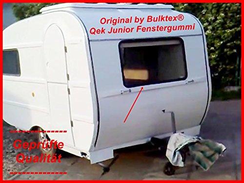 ek Qeck Junior Wohnwagen Wohnmobil Camping Scheibengummi Profilgummi Gummi Keder Füller für alle 4 Fenster Scheiben Neu ()