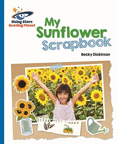 My sunflower scrapbook