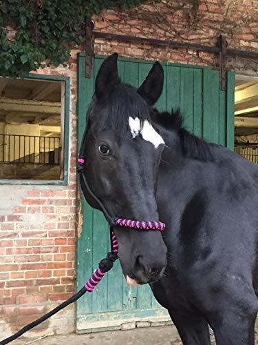 Frustino per equitazione con manico antiscivolo in pelle William Hunter Equestrian Racing Flogger resistente