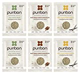 Purition Dairy-Free Plant Based Vegan Trial Box | High Protein Alternative to Meal Replacement Shake or Smoothie | Healthy Omega Fats and Fibre from All Natural Energy-Rich Wholefoods | Ideal for Weight Loss and Post Workout Recovery | 6 x 40 grams Sachet