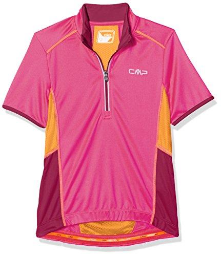CMP Jungen Bike T-Shirt, Hot Pink, 140.0