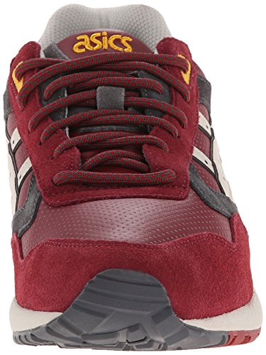 Asics Gel-Saga Retro Classic Running Sneaker Burgundy/Off White