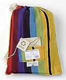 Amazonas AZ-101816 Barbados rainbow Hängematte, Belastbarkeit 200 kg, Liegefläche 230 x 150cm - 6