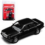 Herpa Mercedes-Benz C-Klasse 190 E W201 Limousine Schwarz 1982-1993 Bausatz Kit H0 1/87 Modell Auto mit individiuellem Wunschkennzeichen