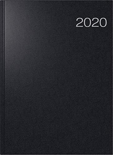 Buchkalender Conform (1 Seite = 1 Tag, 210 x 291 mm, Balacron-Einband, Kalendarium 2020) schwarz ()