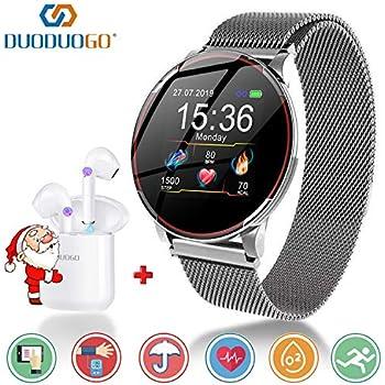 Smartwatch para Hombres Mujeres Niños,Reloj Inteligente ...