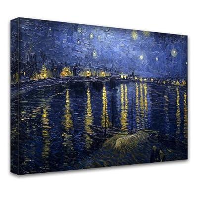 """""""Van Gogh Sammlung 7"""", Kunstdrucke Leinwandbild Bild Malerei Wandbilder. Größe 24'' x 38'' - 61 x 97 cm. Verschiedene Größe und Designs erhältlich."""