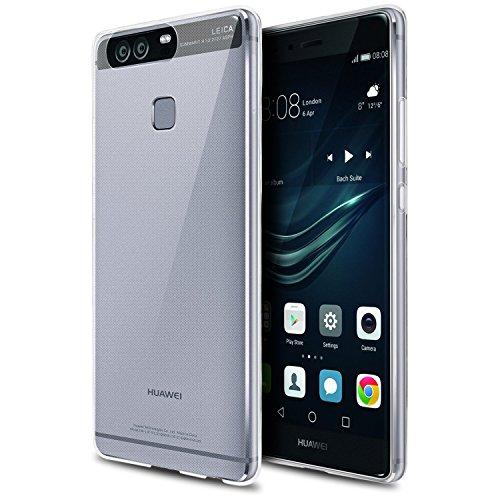 Huawei P9 Hülle, Danibos Transparent Schutzhülle Ultra Slim Silikon Crystal Clear Tasche Cover für Huawei P9
