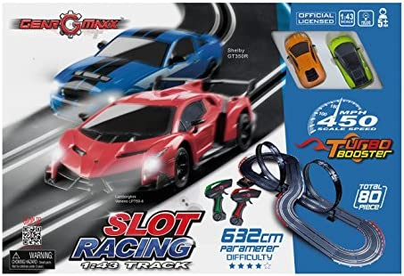 Kidztech 83209 632 cm 1&8239;: 1&8239;: 1&8239;: 43 Slot Track Ensemble de Voiture (2 pièces) | Terrific Value