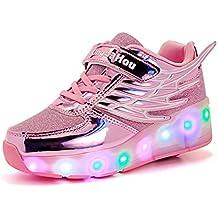Amazon.es: tenis con luces led para nina