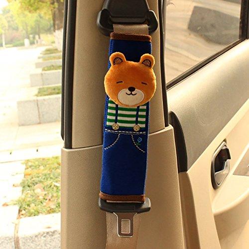 Auto-Sicherheitsgurt-Pad-Abdeckung Gurtabdeckung Reisekissen Sicherheitsgurt Abdeckungen Für EIN Komfortableres Fahren (2 Pack),A