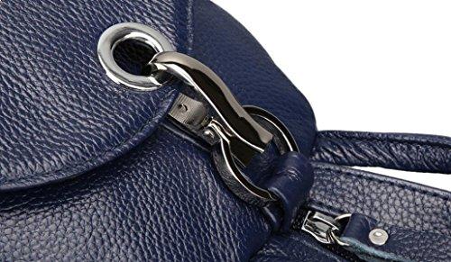 Sacchetto Di Spalla Casuale Pacchetto Petto Signora Borsa Multistrato Borse Antifurto Blue