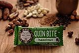 QUIN BITE Hazelnut; Barrita de frutas crudas y frutos secos; Quin Bite - The delicious raw bar! 12x30g